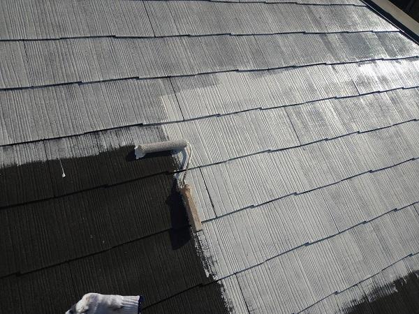 大阪府大阪市 屋根塗装 化粧スレート屋根 下塗り 縁切りとは (3)