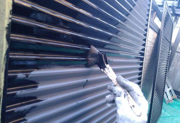 大阪府寝屋川市 付帯部塗装 雨樋・雨戸・鼻隠しの塗装 同時施工がお得な理由 (2)