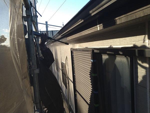 大阪府大阪市 D様邸 屋根塗装・外壁塗装・付帯部塗装 下地処理 高圧洗浄 (4)