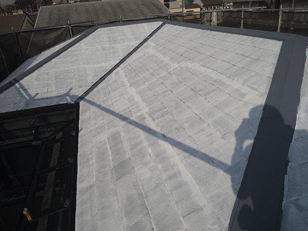 大阪府大阪市 屋根塗装 化粧スレート屋根 下塗り 縁切りとは (2)