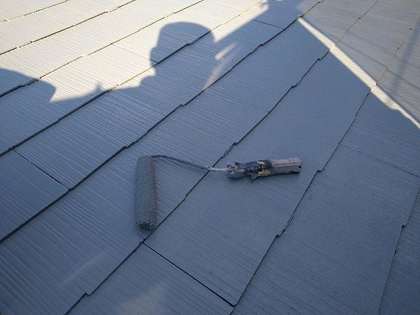 大阪府大阪市 屋根塗装 ダイヤスーパーセランマイルド 遮熱塗料は、色によって日射反射率が異なります! (5)