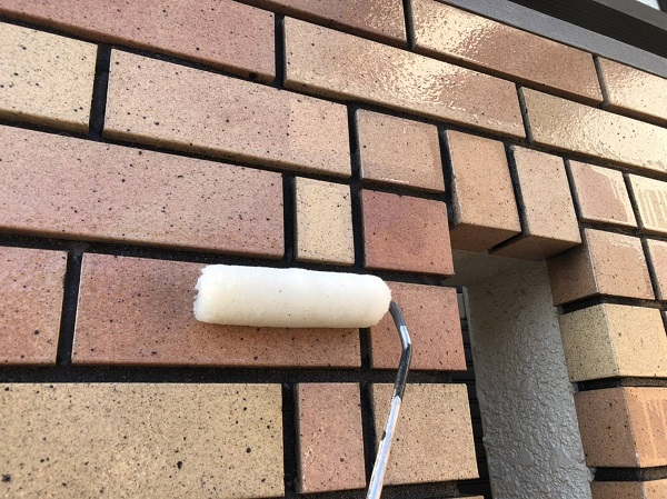 大阪府寝屋川市 外壁塗装 外壁タイル プラザ・オブ・レガシー ウォータープルーフ (2)