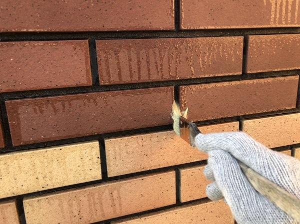 大阪府寝屋川市 外壁塗装 外壁タイル プラザ・オブ・レガシー ウォータープルーフ (4)