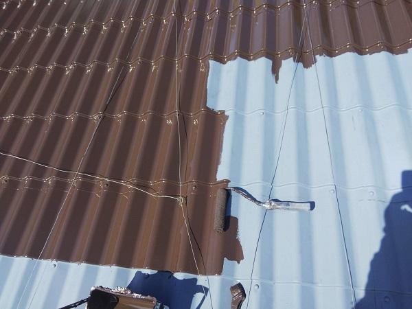 大阪府寝屋川市 屋根塗装 塗り替え時期について 日本ペイント 遮熱塗料 サーモアイSi (3)