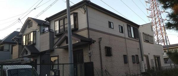 大阪府豊中市 D様邸 屋根塗装 外壁塗装 (1)