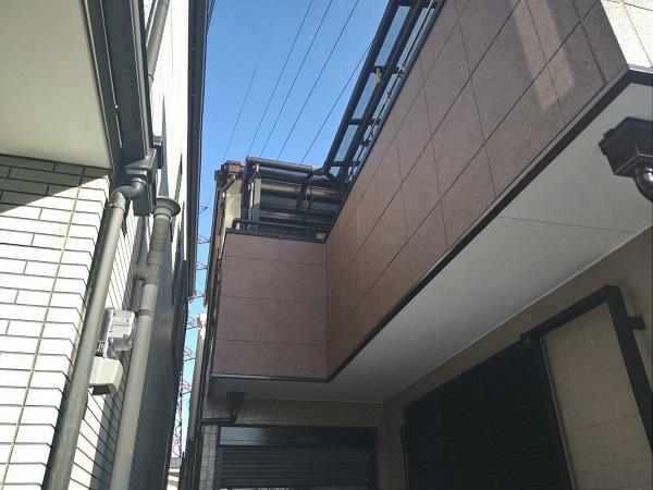 大阪府豊中市 D様邸 屋根塗装 外壁塗装 関西ペイント ラジカル制御型塗料 アレスダイナミックトップ (4)