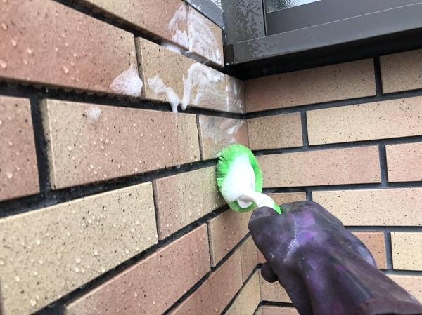 大阪府寝屋川市 外壁塗装 下地処理の重要性 高圧洗浄2