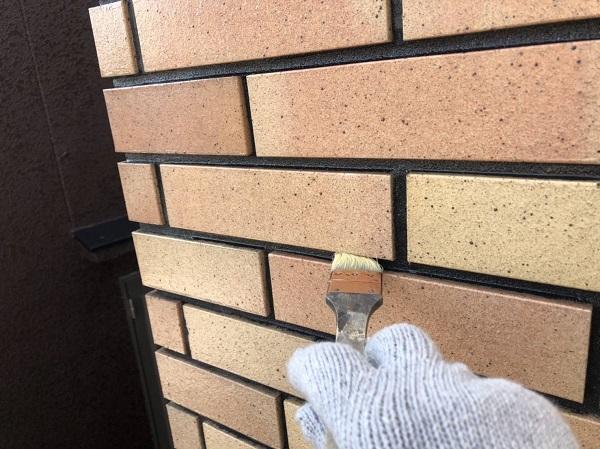 大阪府寝屋川市 外壁塗装 外壁タイル プラザ・オブ・レガシー ウォータープルーフ (1)