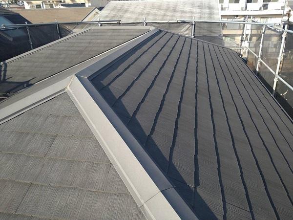 大阪府豊中市 D様邸 屋根塗装 外壁塗装 無料調査 カビが生えているのは、防水効果が低下している証拠です (1)