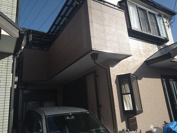 大阪府豊中市 D様邸 屋根塗装 外壁塗装 関西ペイント ラジカル制御型塗料 アレスダイナミックトップ (1)