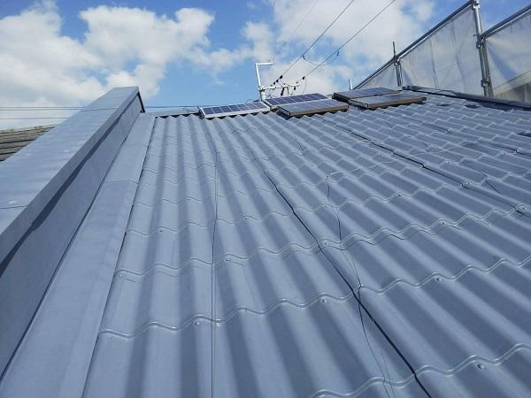 大阪府寝屋川市 屋根塗装 塗り替え時期について 日本ペイント 遮熱塗料 サーモアイSi (4)