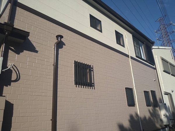 大阪府豊中市 D様邸 屋根塗装 外壁塗装 関西ペイント ラジカル制御型塗料 アレスダイナミックトップ (3)