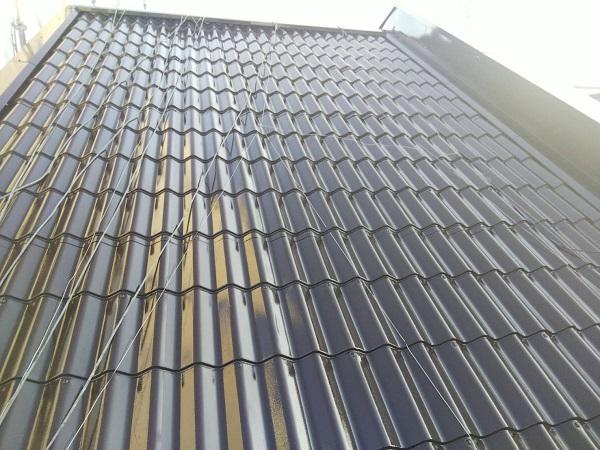 大阪府寝屋川市 屋根塗装 塗り替え時期について 日本ペイント 遮熱塗料 サーモアイSi (1)