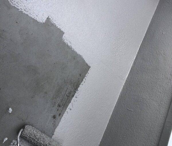 大阪府茨木市 ドレン改修工事 ベランダ防水工事 雨漏り補修 (2)