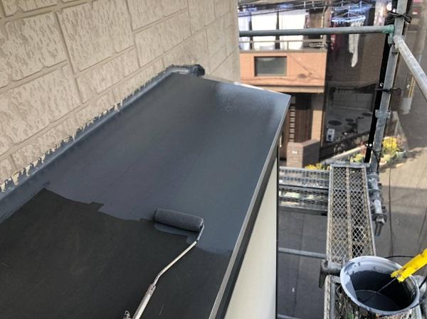 大阪府摂津市 外壁塗装 屋根塗装 霧除け庇塗装 雨漏りに発展するケースとは (2)