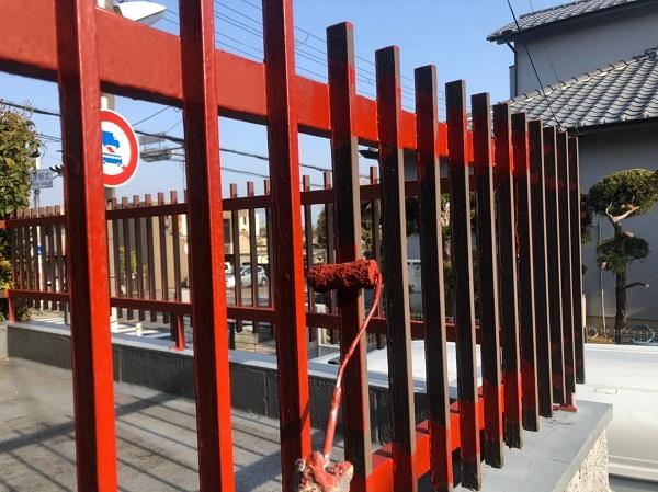 大阪府大阪市 付帯部塗装 付帯部とは ケレン作業が重要な理由 (5)