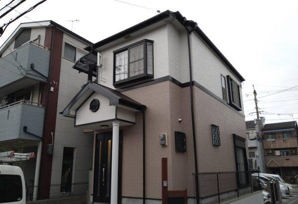 大阪府摂津市 T様邸 外壁塗装 屋根塗装 付帯部塗装 (1)