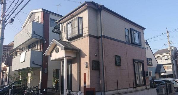 大阪府摂津市 T様邸 外壁塗装 屋根塗装 付帯部塗装 (2)