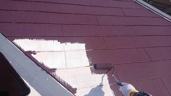 大阪府吹田市 屋根塗装 縁切りとは 日本ペイント サーモアイ4F (3)