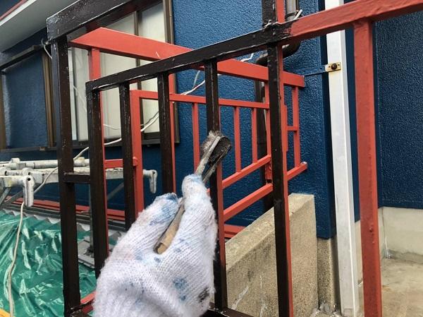 大阪府大阪市 付帯部塗装 付帯部とは ケレン作業が重要な理由 (2)