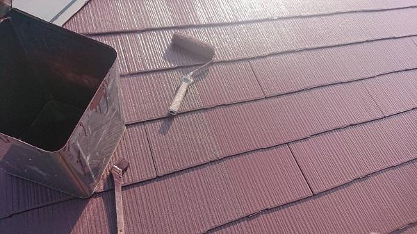 大阪府吹田市 屋根塗装 縁切りとは 日本ペイント サーモアイ4F (2)