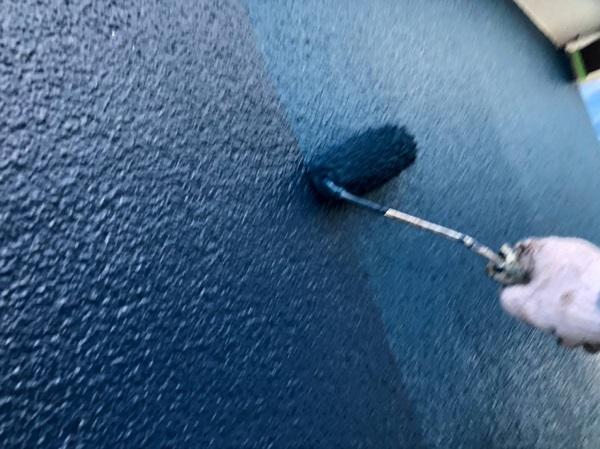 大阪府大阪市 外壁塗装 モルタル外壁 微弾性フィラー (3)