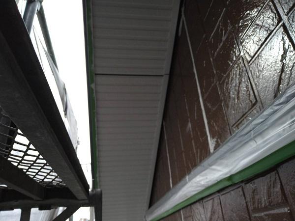大阪府摂津市 外壁塗装 付帯部塗装の重要性 軒天 (2)
