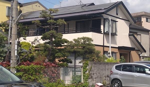 大阪府摂津市 屋根塗装 外壁塗装 付帯部塗装 (6)