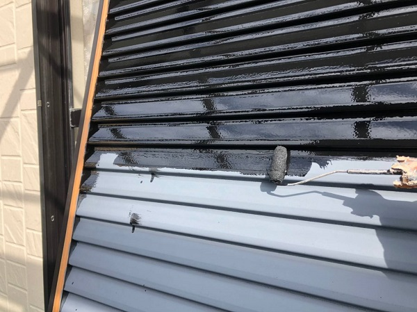 大阪府摂津市 外壁塗装 付帯部塗装 雨戸塗装 フッ素塗料の特徴 (4)
