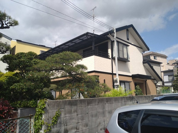 大阪府摂津市 屋根塗装 外壁塗装 付帯部塗装 (4)
