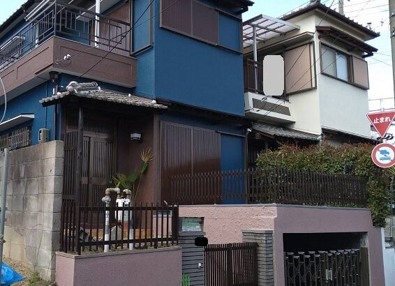 大阪府大阪市 外壁塗装 付帯部塗装 (2)