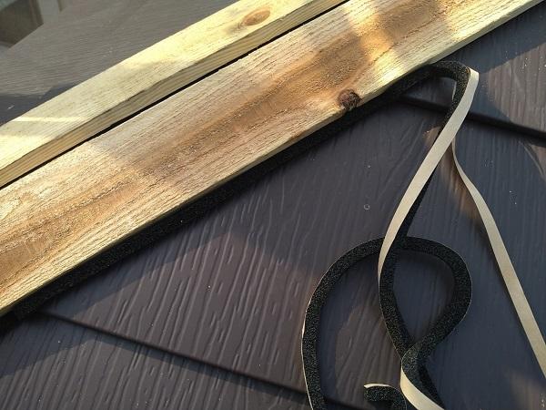 大阪府大阪市 I様邸 屋根重ね葺き工事(カバー工法) 工程 ガルバリウム鋼板屋根 (7)