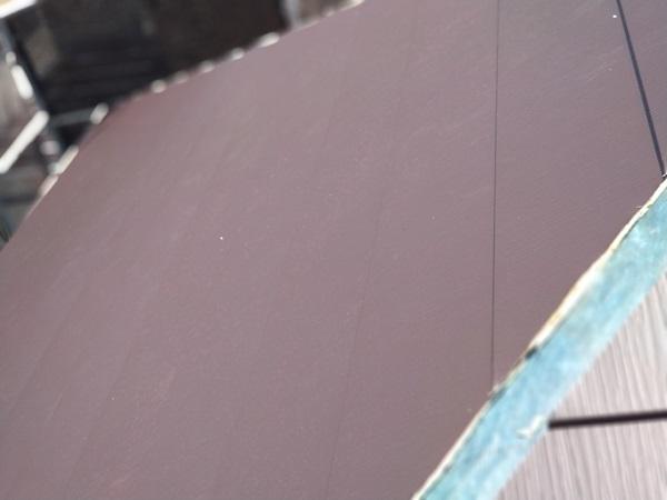 大阪府大阪市 I様邸 屋根重ね葺き工事(カバー工法) 工程 ガルバリウム鋼板屋根 (13)