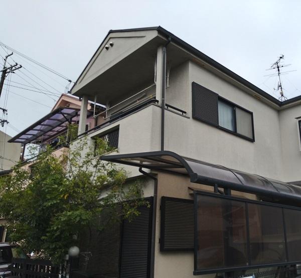 大阪府摂津市 T様邸 屋根塗装・外壁塗装・付帯部塗装 (7)