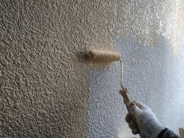 大阪府摂津市 T様邸 屋根塗装・外壁塗装・付帯部塗装 モルタル外壁 ダイヤスーパーセランフレックス (3)