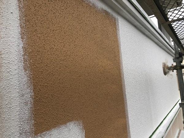 大阪府枚方市 I様邸 外壁塗装・付帯部塗装 日本ペイント ラジカル制御型塗料 パーフェクトトップ ホワイト×ネイビー2色仕上げ (3)