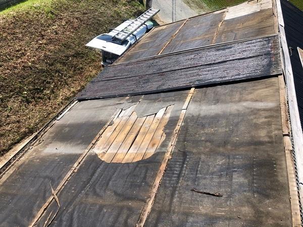 大阪府寝屋川市 K様邸 屋根塗装、修理 倉庫 (4)
