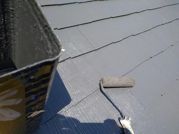 大阪府摂津市 T様邸 屋根塗装・外壁塗装・付帯部塗装 棟板金、ケラバ、屋根塗装 (8)