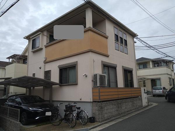 大阪府枚方市 外壁塗装・付帯部塗装 (2)