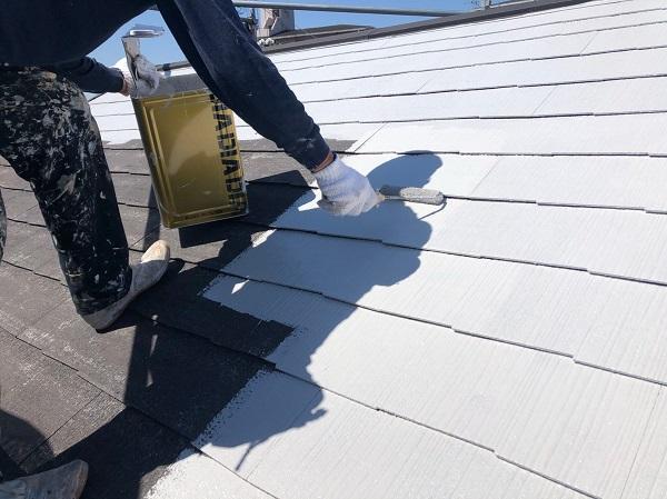 大阪府摂津市 T様邸 屋根塗装・外壁塗装・付帯部塗装 軒天塗装 防水工事 (3)