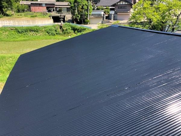 大阪府寝屋川市 K様邸 屋根塗装、修理 倉庫 (14)