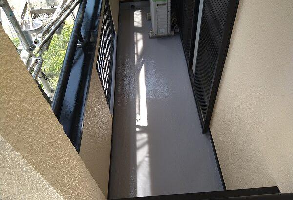 大阪府摂津市 T様邸 屋根塗装・外壁塗装・付帯部塗装 軒天塗装 防水工事 (4)