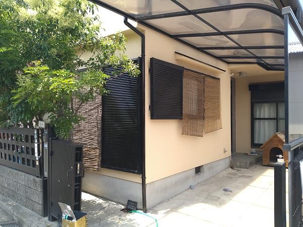 大阪府摂津市 T様邸 屋根塗装・外壁塗装・付帯部塗装 (1)
