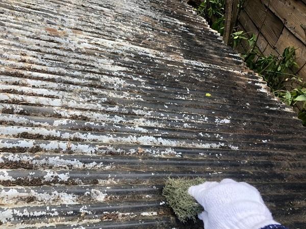大阪府寝屋川市 K様邸 屋根塗装、修理 倉庫 (9)