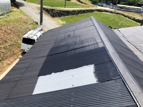 大阪府寝屋川市 K様邸 屋根塗装、修理 倉庫 (13)
