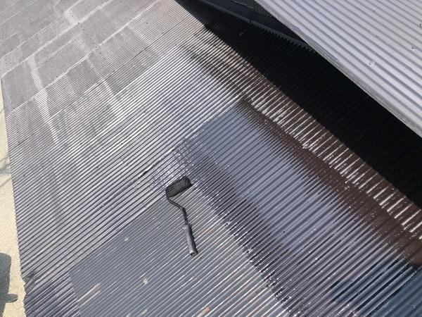 大阪府寝屋川市 K様邸 屋根塗装、修理 倉庫 (8)