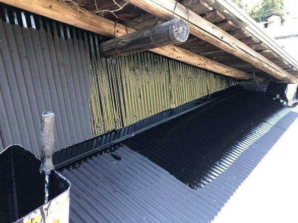 大阪府寝屋川市 K様邸 屋根塗装、修理 倉庫 (16)