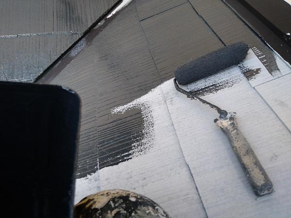 大阪府摂津市 T様邸 屋根塗装・外壁塗装・付帯部塗装 棟板金、ケラバ、屋根塗装 (9)