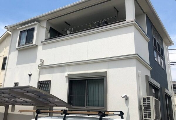 大阪府枚方市 外壁塗装・付帯部塗装 (3)