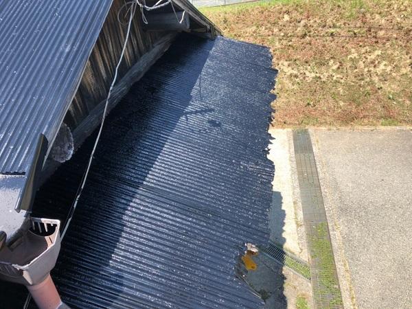 大阪府寝屋川市 K様邸 屋根塗装、修理 倉庫 (11)